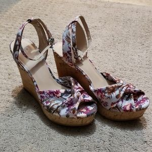 Wedge multicolored sandals Sz 5